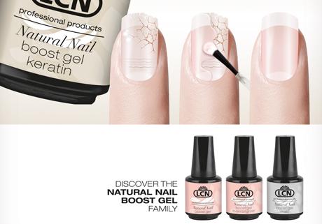 Natural Nail Boost Gel von LCN