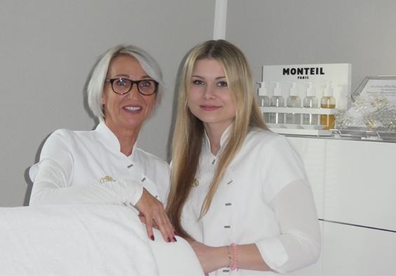 Jutta Sondermann und Kim Schwier